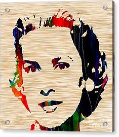 Grace Kelly  Acrylic Print by Marvin Blaine