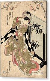 Japan: Tale Of Genji Acrylic Print by Granger