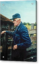 Lee Of Hartland Acrylic Print by James Welch