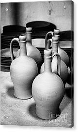 Pottery Acrylic Print by Gaspar Avila