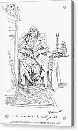 Prince Talleyrand (1754-1838) Acrylic Print by Granger