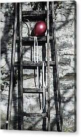 Red Balloon Acrylic Print by Joana Kruse