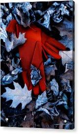 Red Gloves Acrylic Print by Joana Kruse