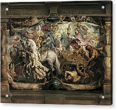 Rubens, Peter Paul 1577-1640. The Acrylic Print by Everett