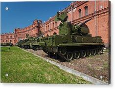 Russia, Saint Petersburg, Kronverksky Acrylic Print by Walter Bibikow
