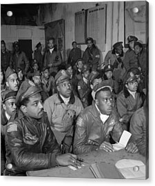 Tuskegee Airmen, 1945 Acrylic Print by Granger