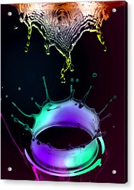 Water  Acrylic Print by Mark Ashkenazi