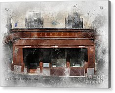 42 Avenue George Acrylic Print by Rebecca Jenkins