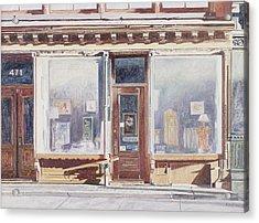 471 West Broadway Soho New York City Acrylic Print by Anthony Butera