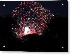 4th Of July Fireworks - 011312 Acrylic Print by DC Photographer