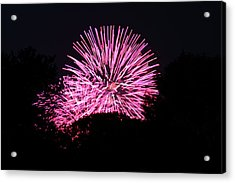 4th Of July Fireworks - 011326 Acrylic Print by DC Photographer