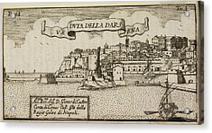 An Illustration Of 18th Century Naples Acrylic Print by British Library