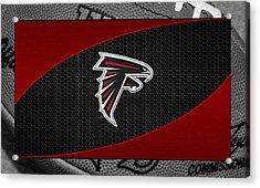 Atlanta Falcons Acrylic Print by Joe Hamilton