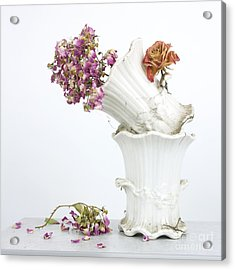Bouquet Acrylic Print by Bernard Jaubert