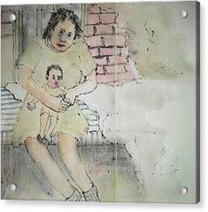 Inside Mental Illness Album Acrylic Print by Debbi Chan