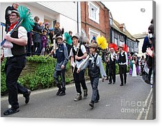 Jack In The Green Festival Hastings Acrylic Print by David Fowler