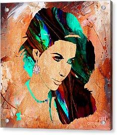 Kim Kardashian Collection Acrylic Print by Marvin Blaine