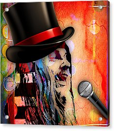 Leon Russell Collection Acrylic Print by Marvin Blaine