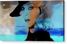 Madonna Acrylic Print by Marvin Blaine