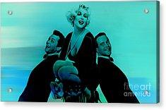 Marilyn Monroe Acrylic Print by Marvin Blaine