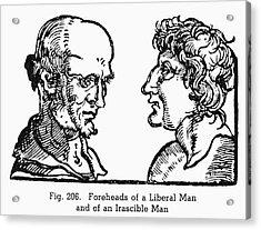 Physiognomy, 1533 Acrylic Print by Granger
