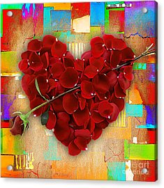 Roses Collection Acrylic Print by Marvin Blaine