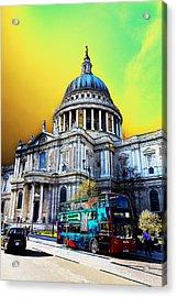 St Pauls Cathedral London Art Acrylic Print by David Pyatt