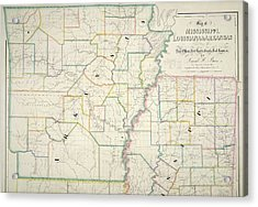 The American Atlas Acrylic Print by British Library