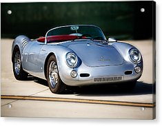 550 Spyder Acrylic Print by Peter Tellone