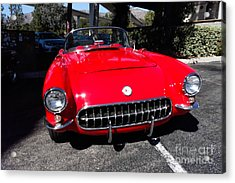 57 Chevy Acrylic Print by Nina Prommer