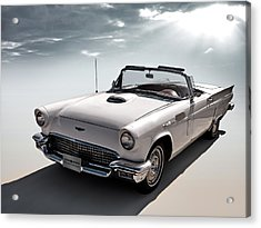 57 T-bird Acrylic Print by Douglas Pittman