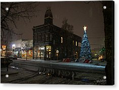 5th And G At Christmas 2012 No2 Acrylic Print by Mick Anderson