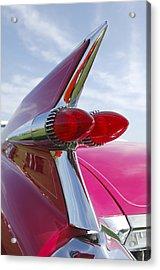 1959 Cadillac Eldorado Taillight Acrylic Print by Jill Reger