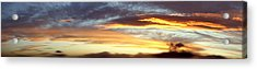 Bright Sky Acrylic Print by Les Cunliffe