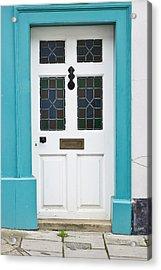 Front Door Acrylic Print by Tom Gowanlock