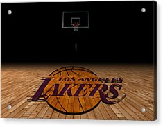 Los Angeles Lakers Acrylic Print by Joe Hamilton