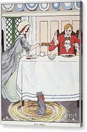 Mother Goose, 1916 Acrylic Print by Granger