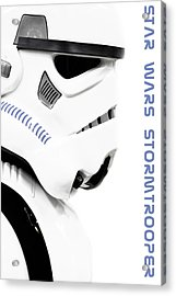 Star Wars Stormtrooper Acrylic Print by Toppart Sweden