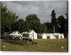 Usa, Oregon, Brooks, Willamette Mission Acrylic Print by Rick A Brown