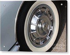 61 Corvette-grey-wheel-9236 Acrylic Print by Gary Gingrich Galleries