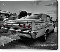 '62 Impala Ss 001 Acrylic Print by Lance Vaughn