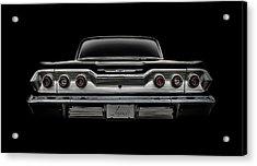 '63 Impala Acrylic Print by Douglas Pittman