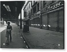 Bushwick Section Of Brooklyn Acrylic Print by Retro Images Archive