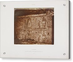 Photograph Of The Egyptian Landscape Acrylic Print by British Library