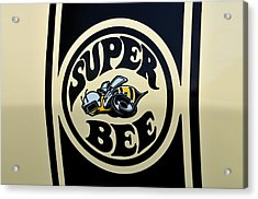 69 Dodge Super Bee Acrylic Print by Thomas Schoeller