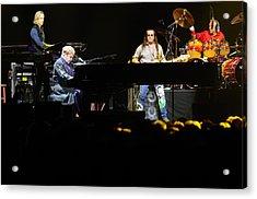Elton John Acrylic Print by Jenny Potter