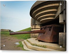 France, Normandy, D-day Beaches Area Acrylic Print by Walter Bibikow
