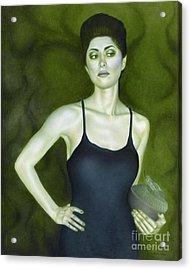 7 Invidia Acrylic Print by Lorena Rivera
