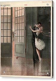 La Vie Parisienne 1929 1920s France Cc Acrylic Print by The Advertising Archives