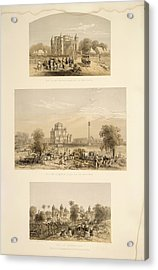 Lucknow Acrylic Print by British Library